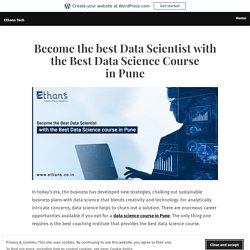 Data Science Training from Industrial Experts