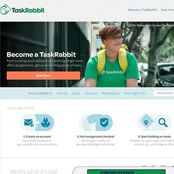 Who are the TaskRabbits?