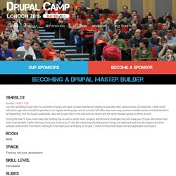 Becoming A Drupal Master Builder