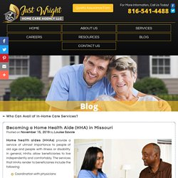 Becoming a Home Health Aide (HHA) in Missouri