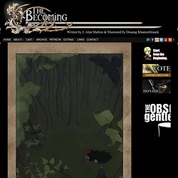The Becoming - A Gothic Steampunk Fantasy Graphic Novel
