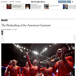 The Bedazzling of the American Gymnast