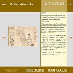 Arts of the Bedchamber: Japanese Shunga