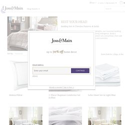 Rest Your Head - Bedding Sets in Timeless Patterns & Solids