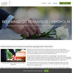 Bedemand og begravelse i Hørsholm