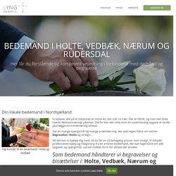 Bedemand i Holte Vedbæk Rudersdal og Nærum Begravelse Holte