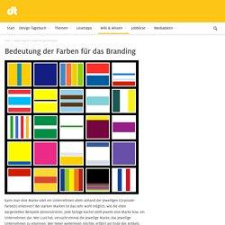 Bedeutung der Farben für das Branding