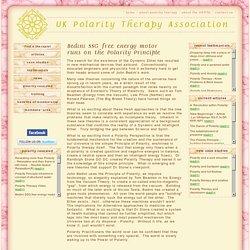 Bedini SSG free energy motor runs on the Polarity Principle