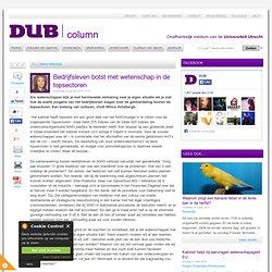 DUB: Bedrijfsleven botst met wetenschap in de topsectoren