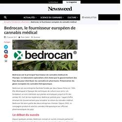 Bedrocan, le fournisseur européen de cannabis médical - Newsweed