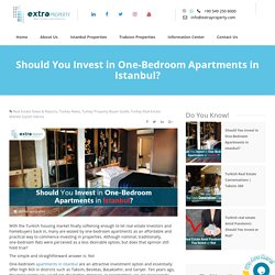 Should You Invest in One-Bedroom Apartments in Istanbul?