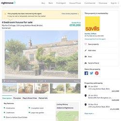 4 bedroom house for sale in Myrtle Cottage, 155 Long Ashton Road, Bristol, Somerset, BS41