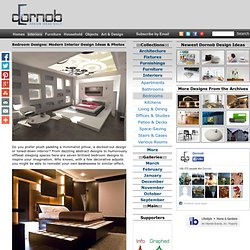 Bedroom Designs: Modern Interior Design Ideas & Photos | Designs &Ideas on Dornob - StumbleUpon