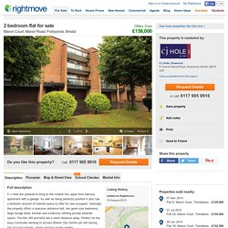 2 bedroom flat for sale in Manor Court, Manor Road, Fishponds, Bristol, BS16