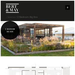 2 Bedroom Garden Pods from Bert & May