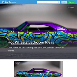 Hot Wheels Bedroom Ideas (with images) · justjillin