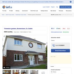 1 bedroom House share, Trimleston gardens, Booterstown, South Co. Dublin