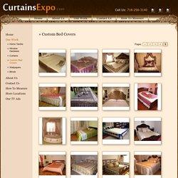 Custom Bed Covers to Make Bedrooms Elegant