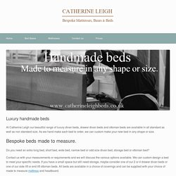 Beds - catherine leigh beds