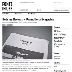Bedstuy Records – Promotional Magazine