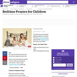 5 Bedtime Prayers for Children to Enjoy With Your Kids