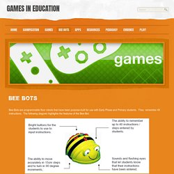 Bee Bots - Games in Education