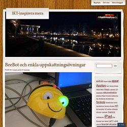 BeeBot och enkla uppskattningsövningar