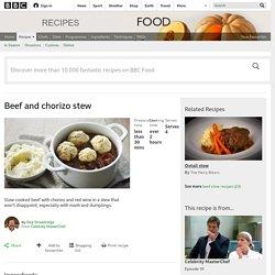 Beef and chorizo stew recipe - BBC Food