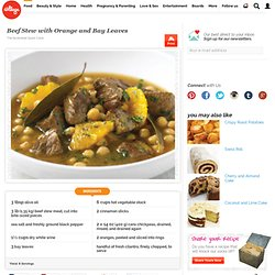 Beef Stew with Orange and Bay Leaves -DK