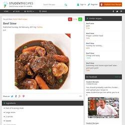 Beef Stew - yum