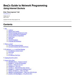 s Guide to Network Programming