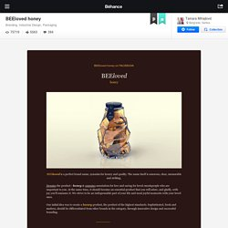 BEEloved honey on Behance