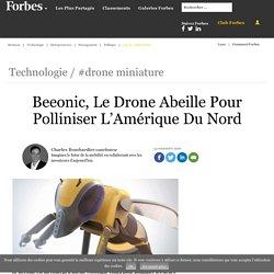 Beeonic, Le Drone Abeille Pour Polliniser L'Amérique Du Nord