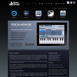 iSequence synth