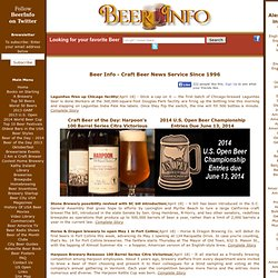 Beer Info - Brews News Service plus Craft Beer and Homebrew Library