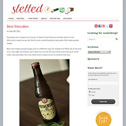 Beer Pancakes | stetted