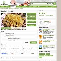 Beeriges Porridge (Rezept mit Bild) von hannicakehorse