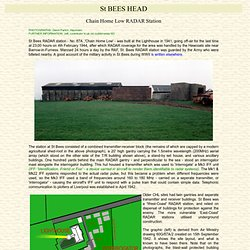 St. Bees Head Chain-Home RADAR Station