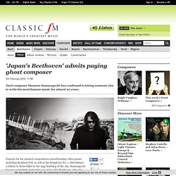 'Japan's Beethoven' admits paying ghost composer - Beethoven News