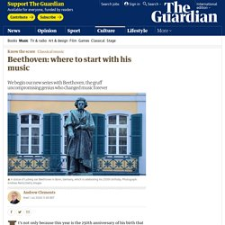 Beethoven: where to start with his music