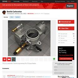 Beetle carburetor