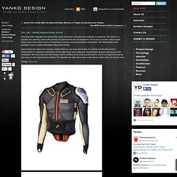 Poc Lab - Beetle Inspired Body Armor & Yanko Design