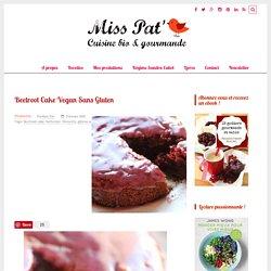 Beetroot Cake Vegan Sans Gluten