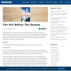 The Girl Before: The Excerpt