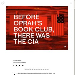 Before Oprah's Book Club, there was the CIA