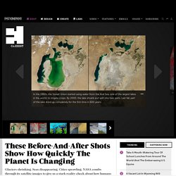 These Before-And-After Shots Show How Quickly The Planet Is Changing