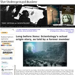 Long before Xenu: Scientology's actual origin story, as told by a former member