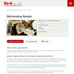 Befriending Reader - Do-It - Be More