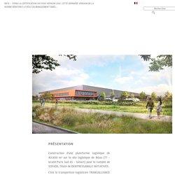 REAU (77) : Construction d'un entrepôt logistique et ses bureaux