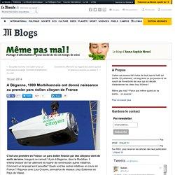 A Béganne, 1000 Morbihannais ont donné naissance au premier parc éolien citoyen de France